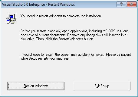 Windows'u yeniden başlat
